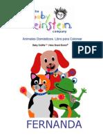 Libro Para Colorear Baby Einstein Los Animales Domésticos