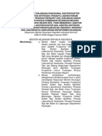2005-02 Kepmenkeu - Tunjangan Fungsional Kesehatan
