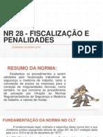 Nr 28 - Fiscalização e Penalidades
