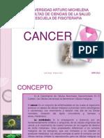 Presentacion Cancer y Cancer de Mama