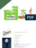 Présentation Campagne de Dons 2014 NILHA