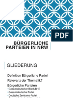 Bürgerliche Parteien in NRW, PPTX