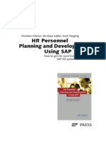 Sample Personnel Planning