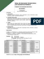 Mecanismos Gra CEFET 2014_1 Programa