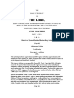 38104120 the Book of the Law of the Lord