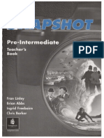 Snapshot Pre Int Teacher's Book