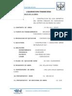 Informe Tecnico Final de Obra Financiera