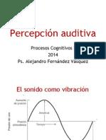 12ª Clase 2014 - Percepción Auditiva