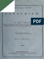 Anti-Slavery Catechism