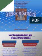 Cementacion Secundaria (Diapositivas)
