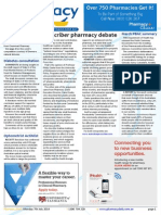 Pharmacy Daily for Mon 07 Jul 2014 - Prescriber Pharmacy Debate, Real-time reporting call, CHF slams MA code, Weekly Comment and much more