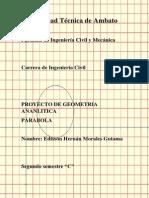 Proyecto de La Parabola FINAL