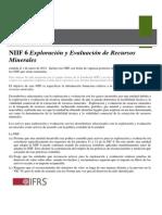RESUMEN -IFRS 6
