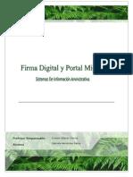 Firma Digital- SIA