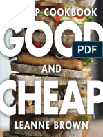 Good and Cheap cookbook