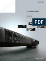 Yamaha AV Catalogue 2013-14