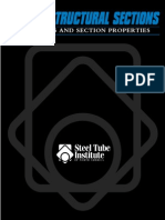 HSS Dimensions and Section Properties Brochure