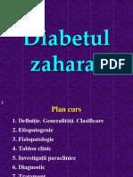 DIABETUL ZAHARAT POWER POINT