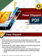 Presentasi Ekonomi Mikro Pasar Oligopoli