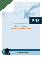 Boccaccio, Giovanni - Trattatello in Laude Di Dante
