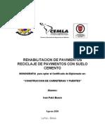 Rehabilitacion de Pavimentos