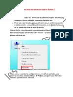 Manual Para Crear Una Red de Área Local en Windows 7