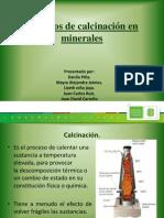 Procesos de Calcinación en Minerales (Completo)