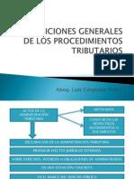 3. Disposiciones Generales. Notificación