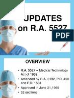 UPDATESon RA5527