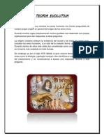 TEORIA EVOLUTIVA - Monografia (Autoguardado)