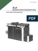 BizhubC452 C552 C552DS C652 C652DSPrintOperationsUserGuide
