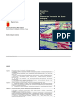 Directrices y Plan de Ordenación Territorial Del Suelo Industrial de La Región de Murcia Estudio Impacto Ambiental
