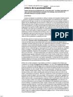 El Entierro de La Posmodernidad - Marcelo Pisarro - Revista Ñ