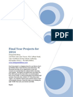 2014 IEEE Project Titles with full papers