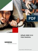 Siemens HiPath 3000 Vital Statistics