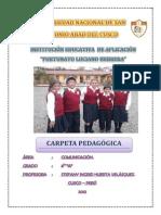 Carpeta Pedagógica Flh-2012