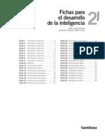 Fichas Desarrollo de La Inteligencia Santillana