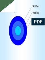 Blues 3 Ring Target