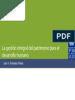Gestion Integral Del Patrimonio