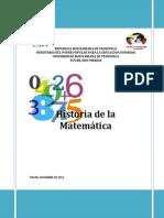 Historia de La Matematica