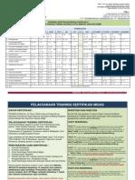1. Training Sertifikasi Migas - Akualita 2014