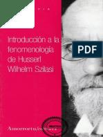 4196- Introduccion a La Filosofia de Husserl