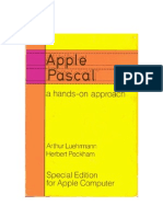 Apple Pascal - A Hands-on Approach