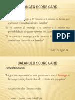 Presentación Balance Score Card Actualizado