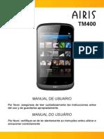 Manual de Usuario - AIRIS TM400 (Español-Portugués)