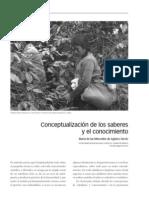 Conceptualización de Los Saberes y El Conocimiento. (2)