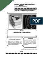 Tema 7 Objetivos de La Investigación