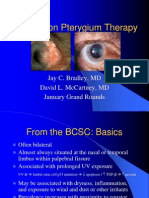 Grand Rounds - Treatment of Pterygium 1-05
