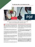 El Cable Tipo Taller y Las Instalaciones Fijas