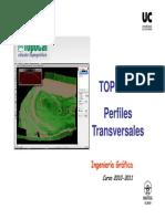 IG-S11 Topocal Perfiles Transversales